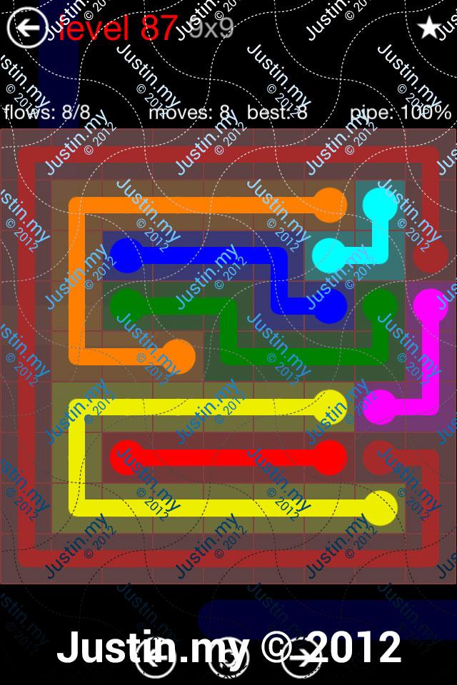Flow 9x9 Mania Level 087