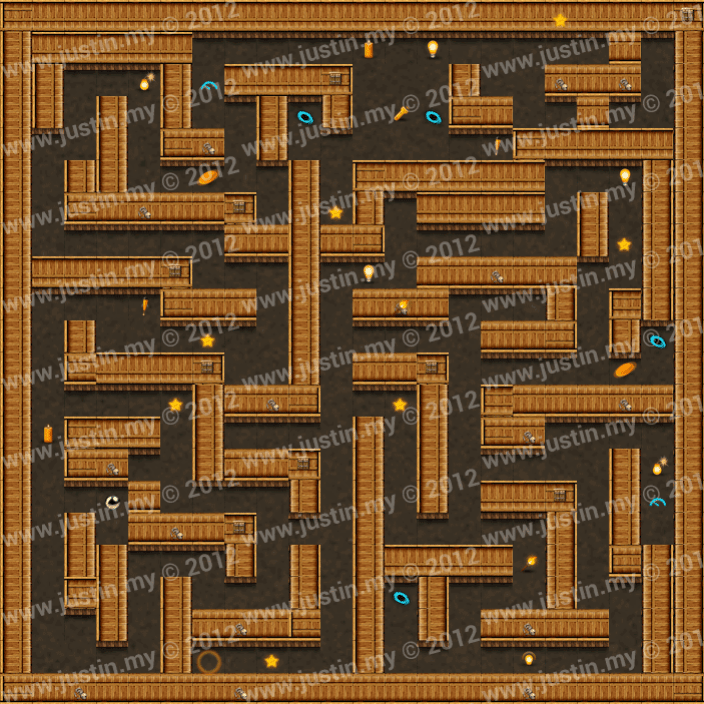 Reveal the Maze Level 3-7