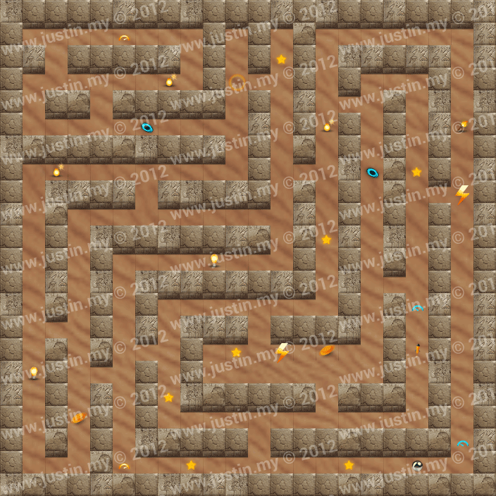 Reveal the Maze Level 6-12