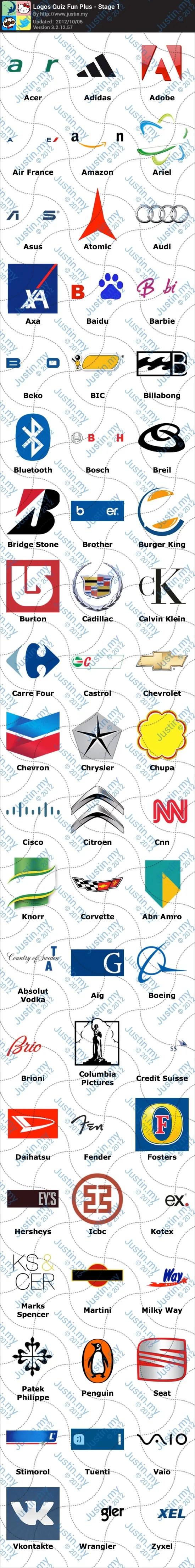 Logos Quiz Fun Plus Stage 1