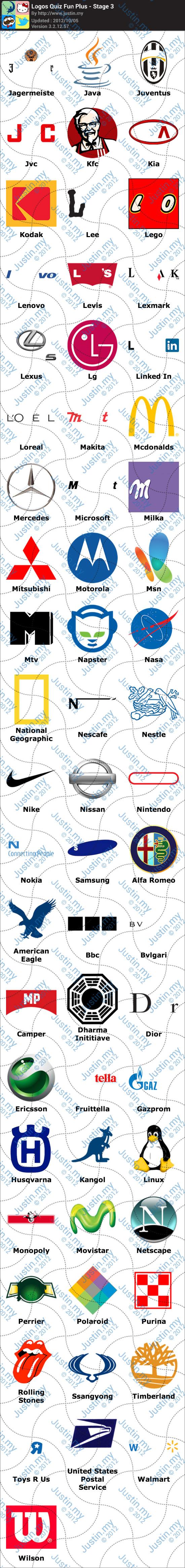 Logos Quiz Fun Plus Stage 3