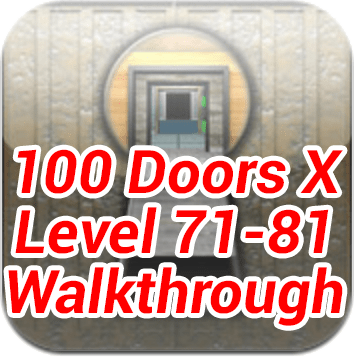 100 Doors 71 81 Walkthrough