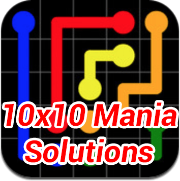 Flow 10x10 Mania Solutions