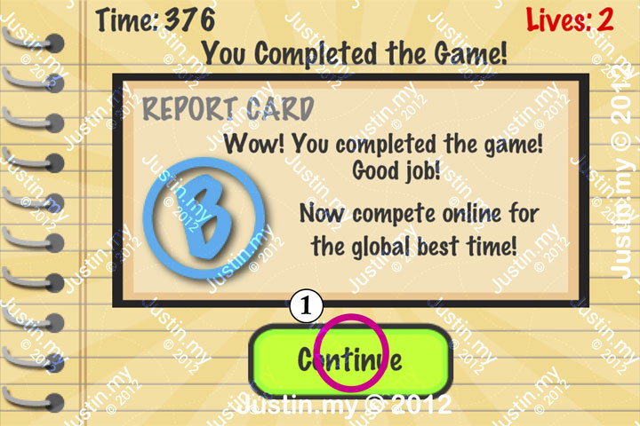 Impossible Test Answers Level 44