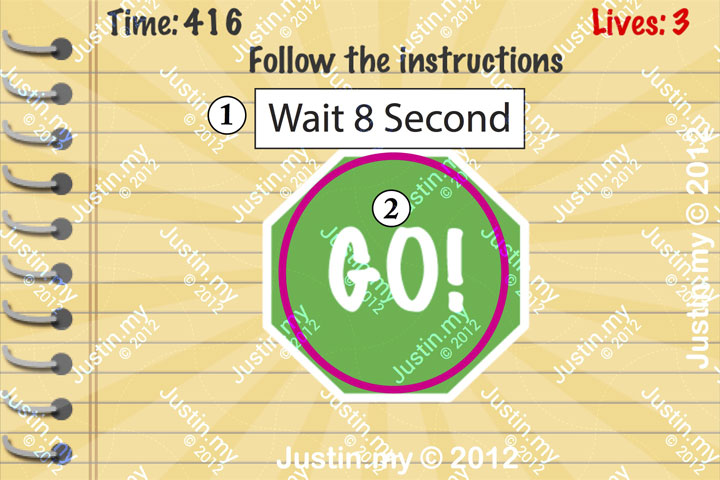 Impossible Test Answers Level 63