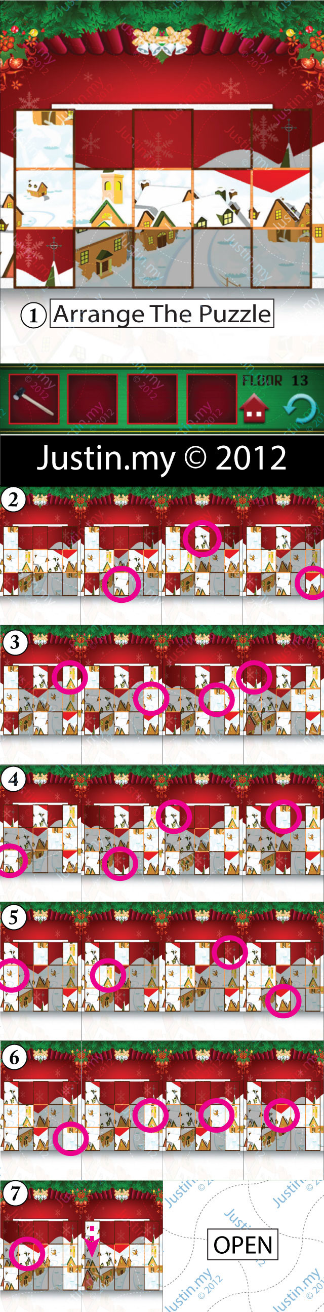 100 Floors Christmas Level 13 v2
