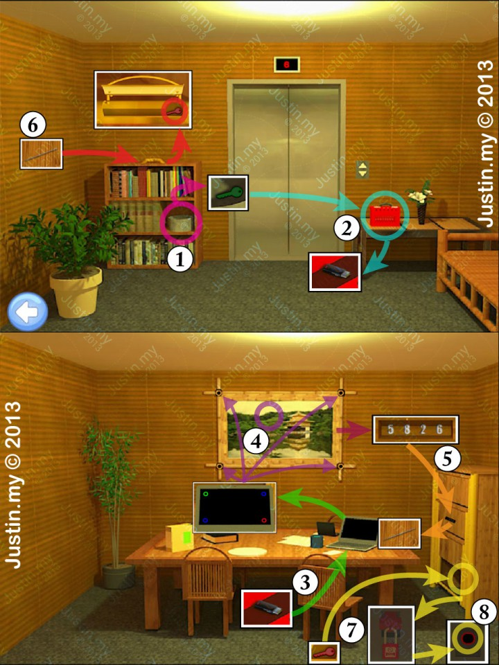 Escape If you can Walkthrough for iPhone, iPad , Android