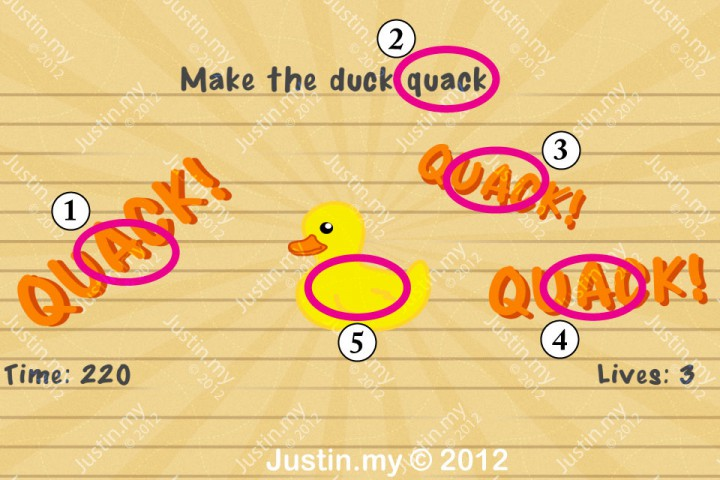 Impssible Test 2 - Make the duck quack