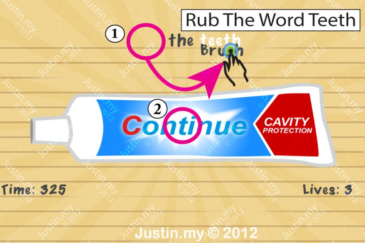 Impssible Test 2 - Brush the teeth