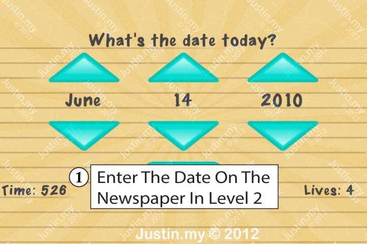 Impssible Test 2 - What's the date today?