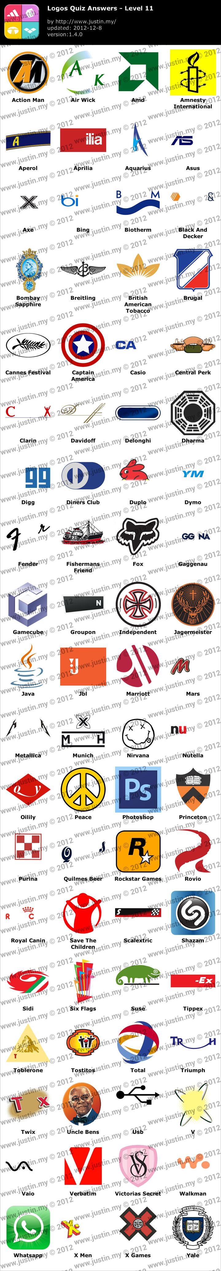 Logos Quiz Level 11