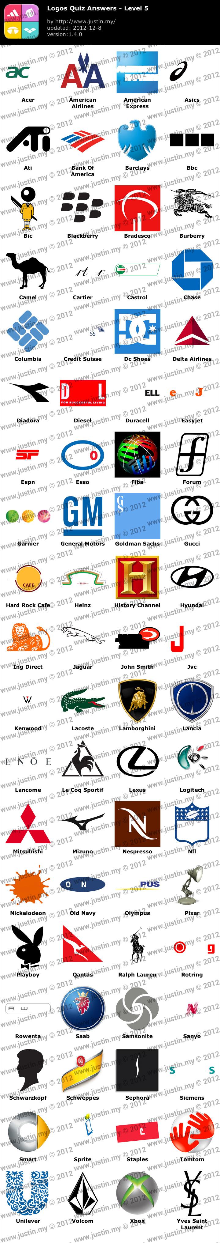 Logos Quiz Level 5