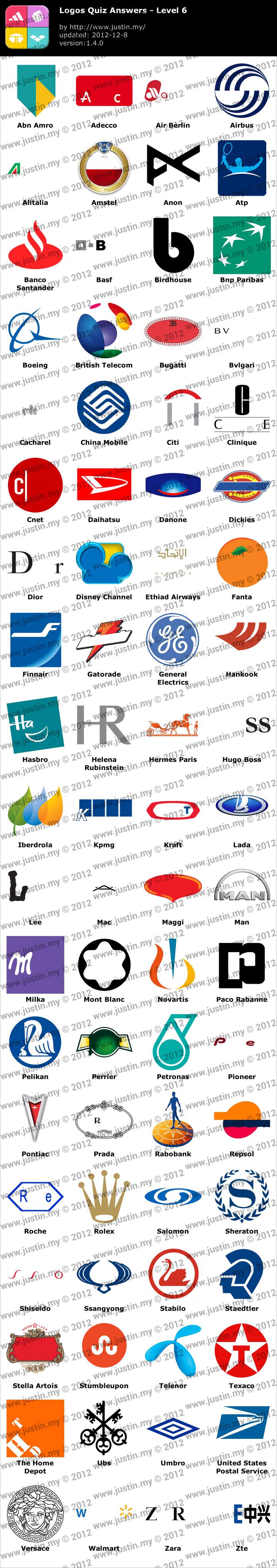 Logos Quiz Level 6