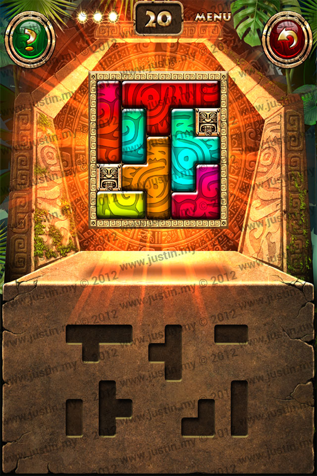 Montezuma Puzzle Level 20