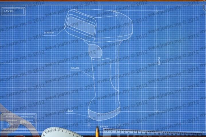 BluePrint 3D Electronic Level 11