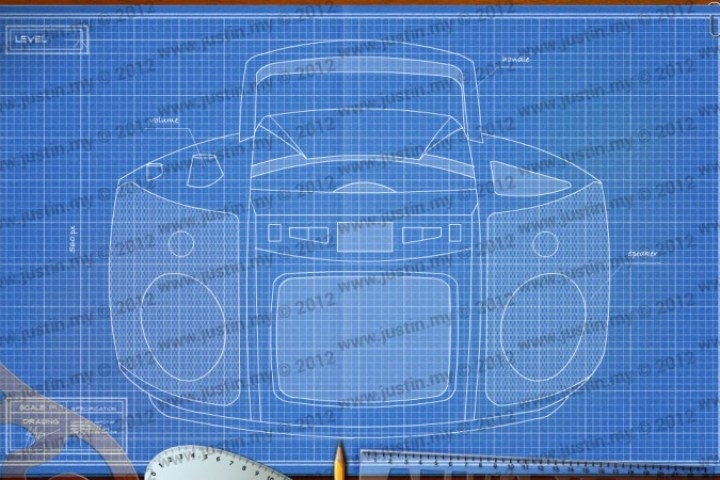 BluePrint 3D Electronic Level 31