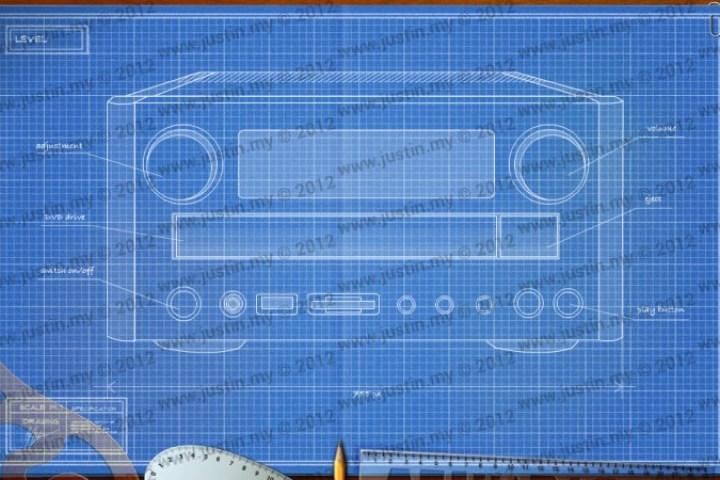 BluePrint 3D Electronic Level 35