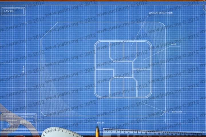 BluePrint 3D Electronic Level 5