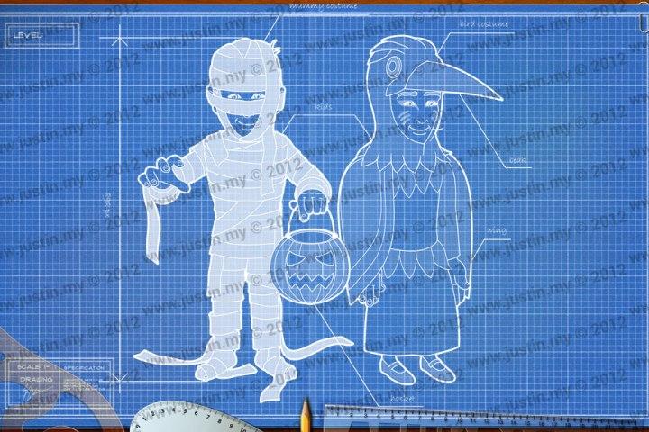 BluePrint 3D Halloween Level 10