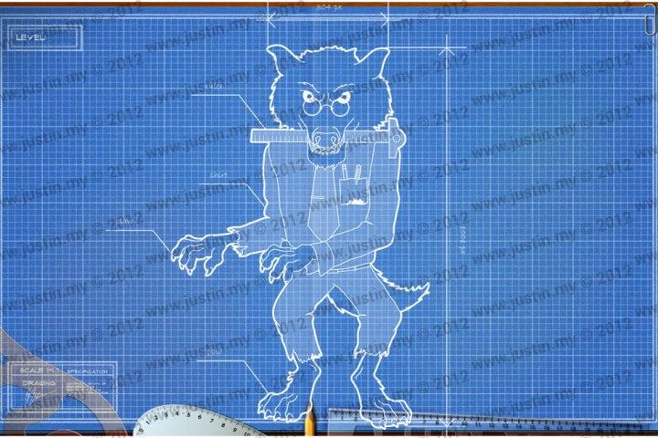 BluePrint 3D Halloween Level 9
