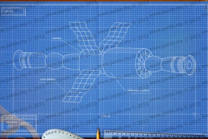 BluePrint 3D Space Level 15