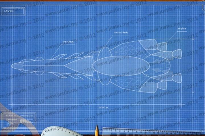 BluePrint 3D Space Level 24