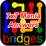 Flow Bridges 7×7 Mania Answers