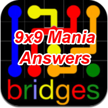 Flow Bridges 9x9 Mania Answers