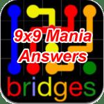Flow Bridges 9×9 Mania Answers