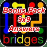 Flow Bridges Bonus Pack 9×9 Answers