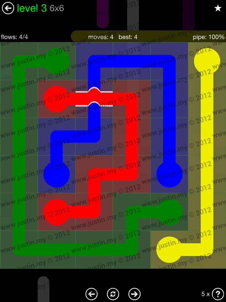 Flow Bridges 6x6 Level 3