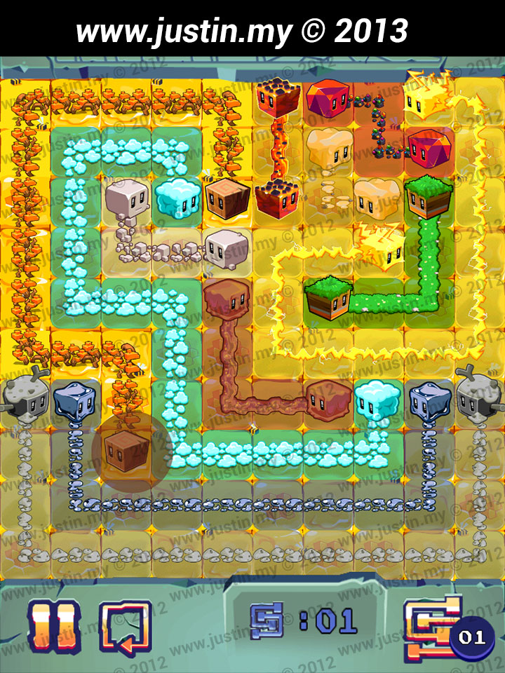 Lost Cubes 10x10 Level 11