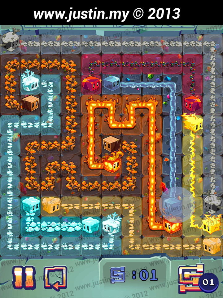 Lost Cubes 11x11 Level 2