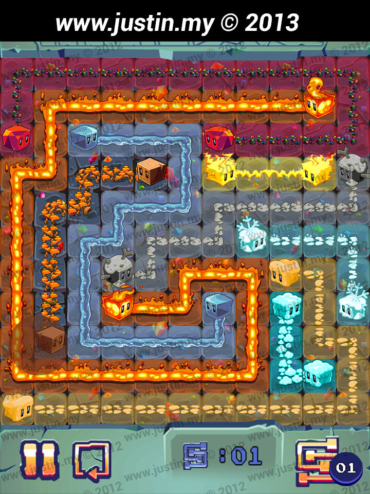 Lost Cubes 11x11 Level 7