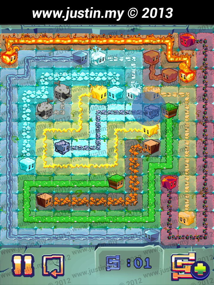 Lost Cubes 12x12 Level 10