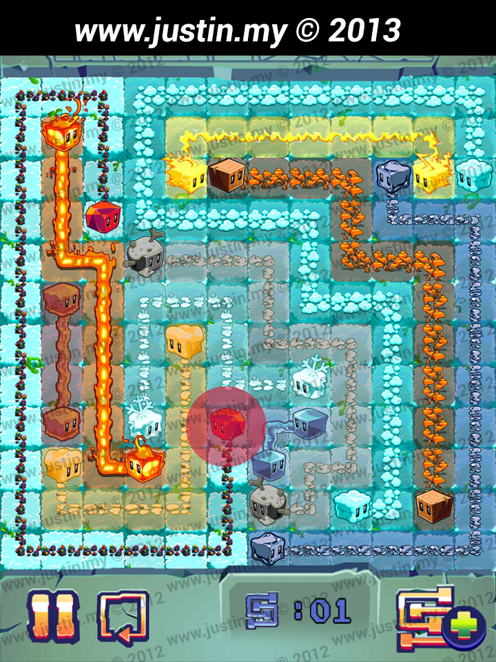 Lost Cubes 12x12 Level 15