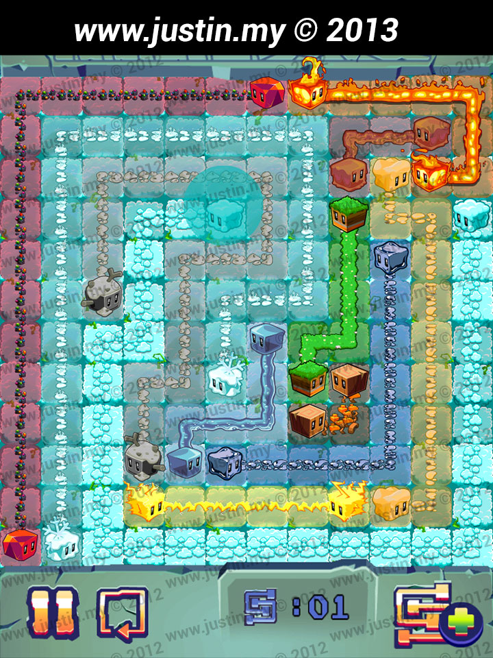 Lost Cubes 12x12 Level 17