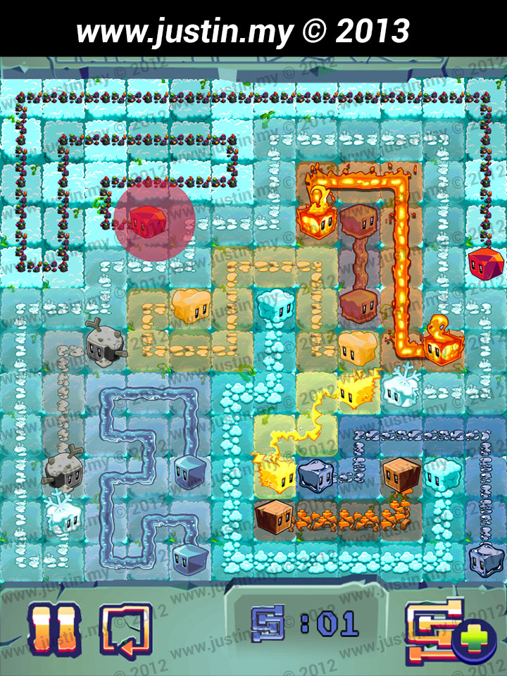 Lost Cubes 12x12 Level 22