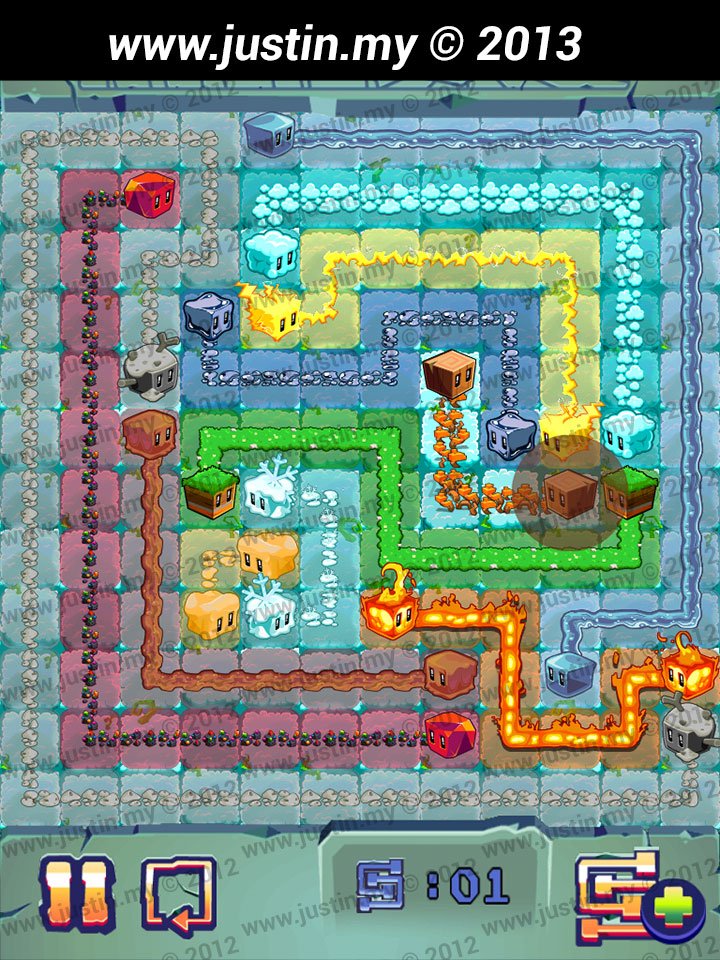 Lost Cubes 12x12 Level 27