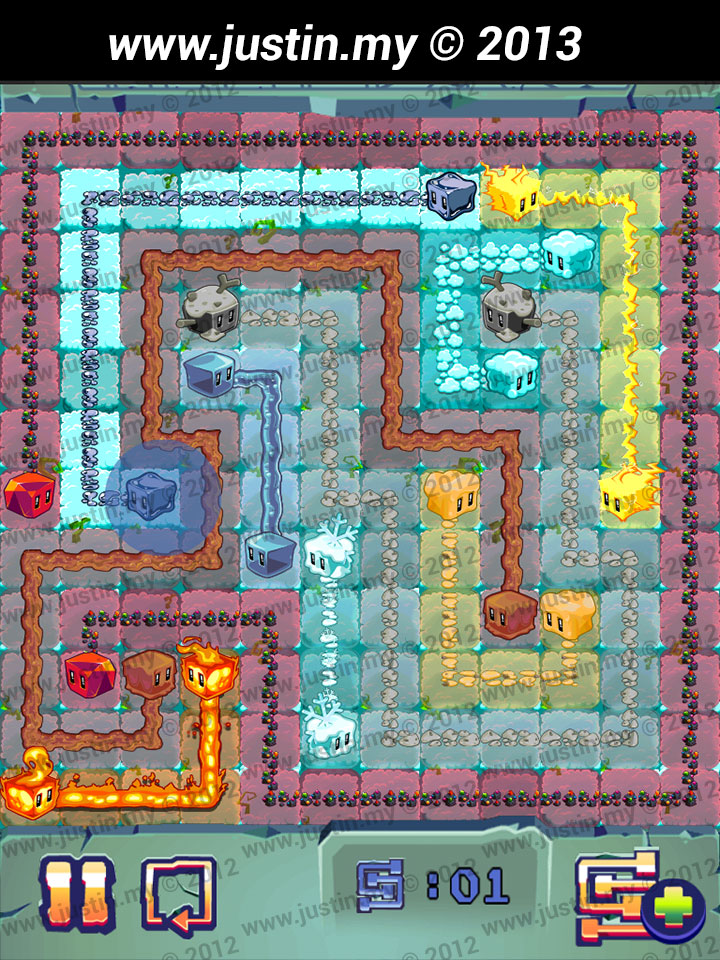 Lost Cubes 12x12 Level 4