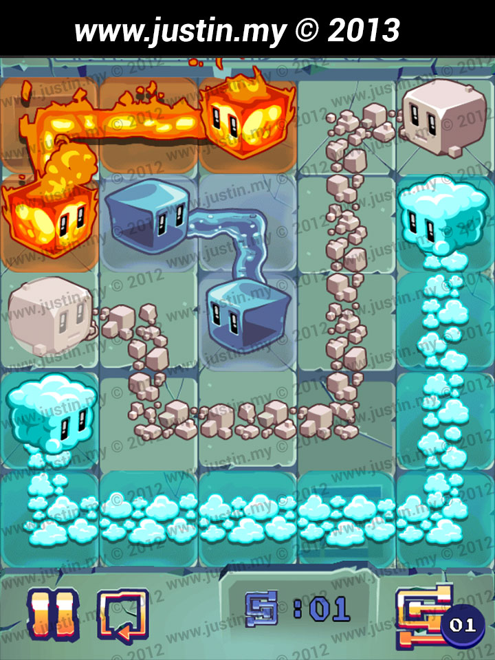 Lost Cubes 5x5 Level 35
