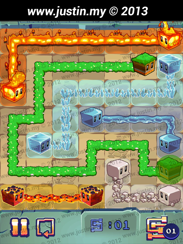Lost Cubes 7x7 Level 25