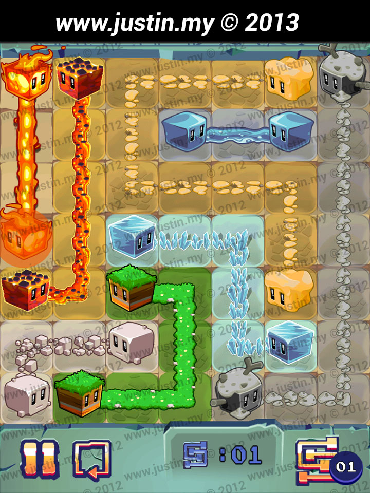 Lost Cubes 7x7 Level 37
