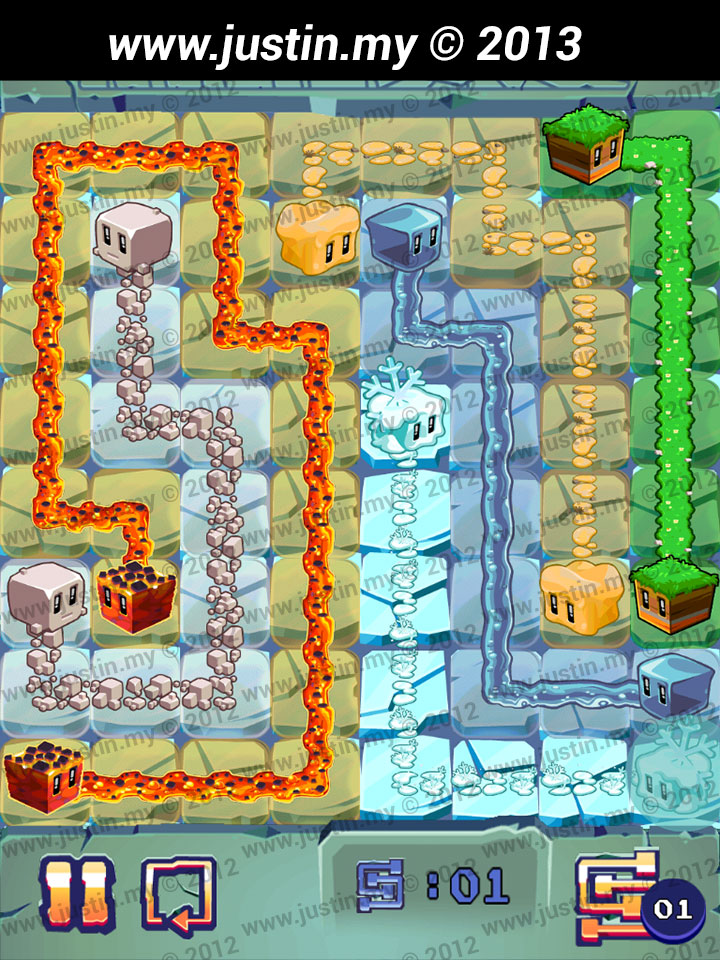 Lost Cubes 8x8 Level 35