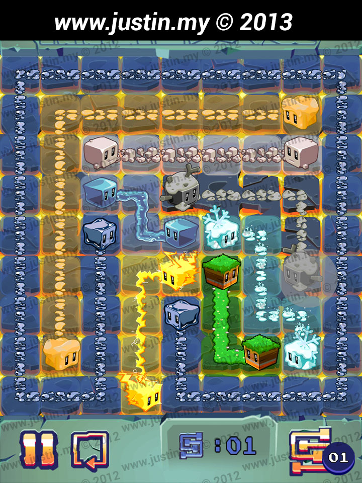 Lost Cubes 9x9 Level 13