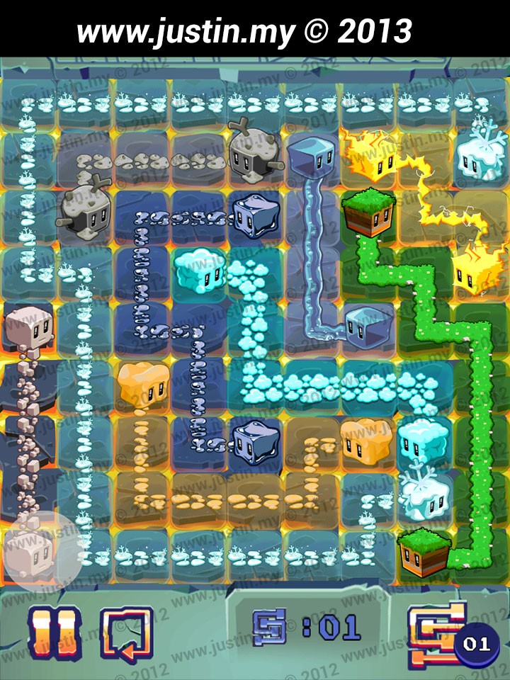 Lost Cubes 9x9 Level 23