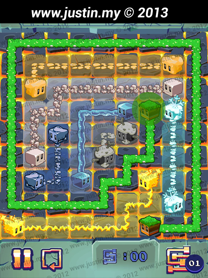 Lost Cubes 9x9 Level 34