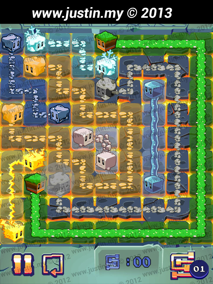 Lost Cubes 9x9 Level 36