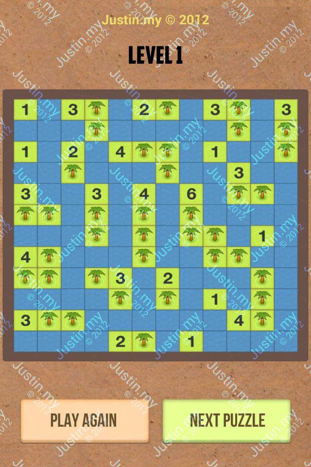 Number Island Nurikabe Master Pack Level 1