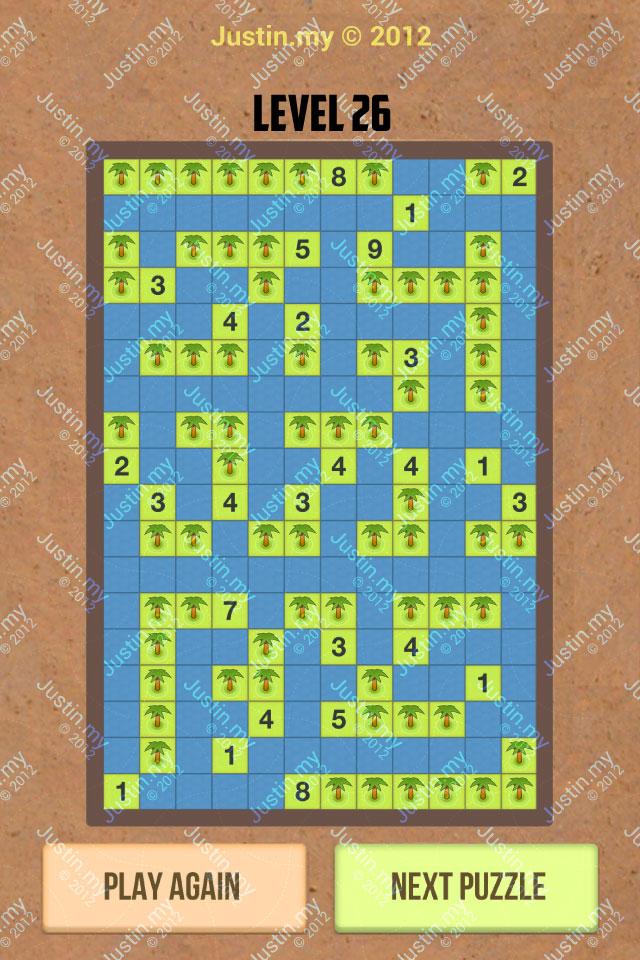 Number Island Nurikabe Master Pack Level 26